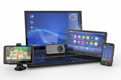 Laptop, mobile phone, tablet, pc, gps